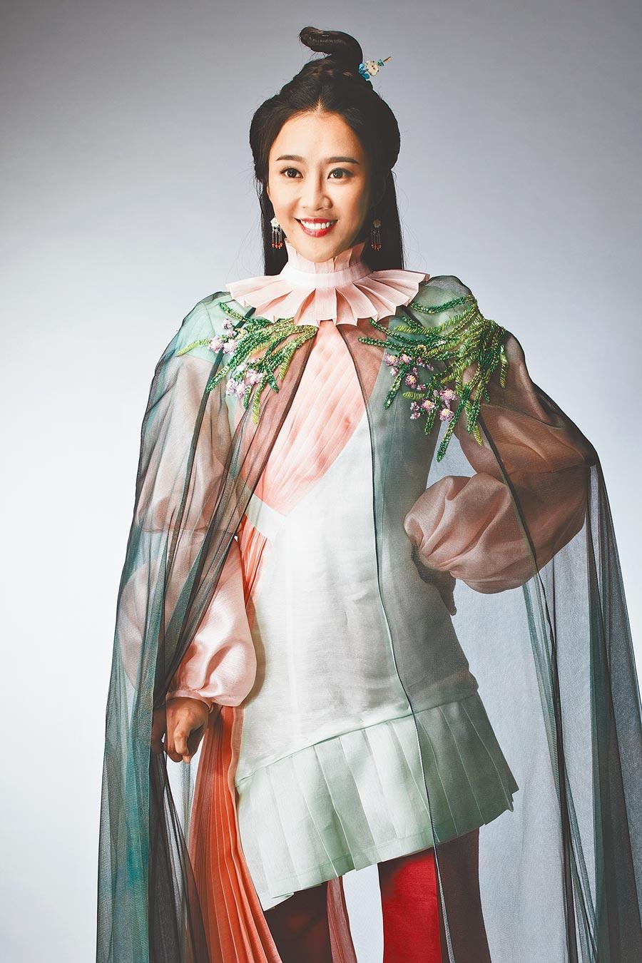 方宥心在《孟婆客棧》古裝扮相驚艷。(民視提供)
