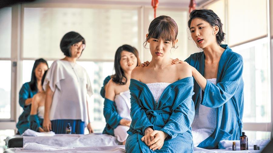 陳璇(右起)、孫可芳在劇中是閨蜜。(華視提供)