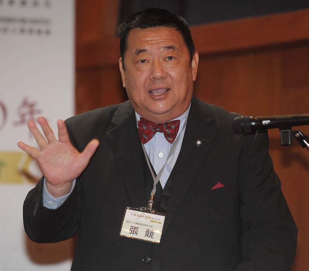 海軍前艦長張競博士。(資料照片)