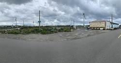 台中松柏漁港漁貨倉庫旁道路 破舊不堪可望改善