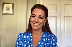 盤點凱特王妃「視訊造型」藏暖心訊息致敬醫護