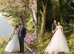 班傑夫妻受邀梨山拍婚紗照及短片 甜蜜直呼「這裡仙炸了!」