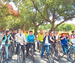 騎亮台灣 查畝營自行車道衝票
