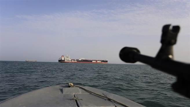 伊朗的油輪曾在直布羅陀遭到扣押。(圖/美聯社)