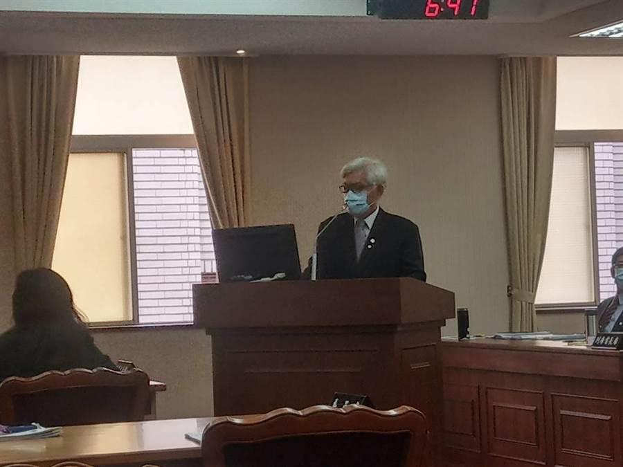 韓國瑜呼籲支持者罷韓案當天不要投票,中選會主委李進勇回應了。 (吳家豪攝)