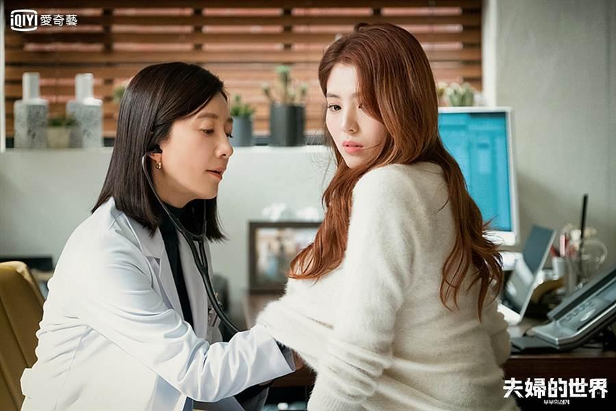 韓劇《夫婦的世界》因劇情尺度大,為愛奇藝台灣站近期最受歡迎的熱門韓劇。(歐銻銻娛樂提供)