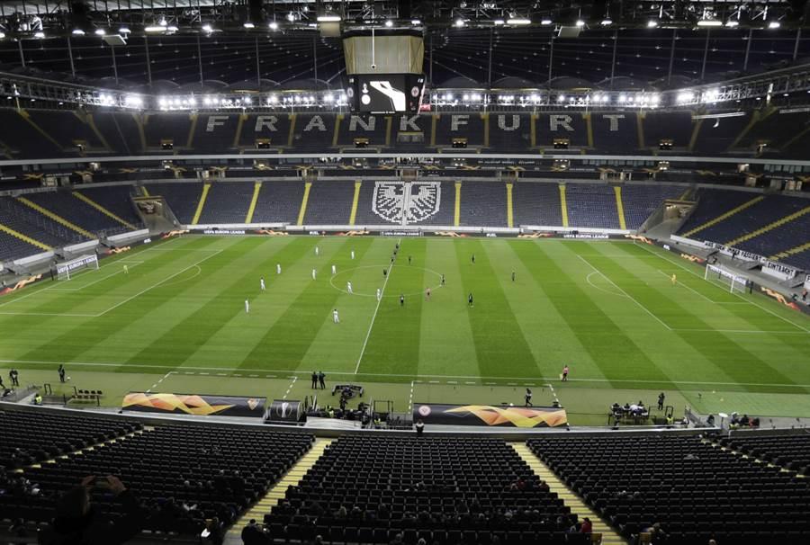 隨著新冠疫情趨緩,歐洲五大頂級足球聯賽最快於本月就會有聯盟復賽。(美聯社資料照)