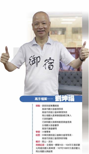 御宿旅館集團總裁 劉坤福CP值哲學 高貴品質、謙虛收費 抓住回流客