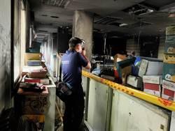 金門縣府半夜火警 建設處公文檔案毀損
