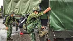 梅雨鋒面到來 第二作戰區完成整備警戒待命