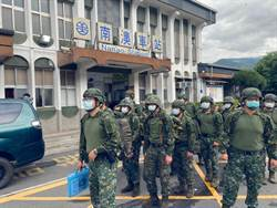 防範致災性降雨 國軍宜蘭預置兵力