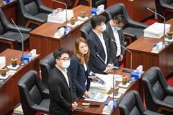 高閔琳嗆辣質詢 韓國瑜反問:跟主委選舉有關?