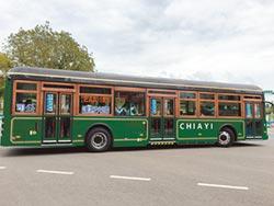 嘉市公車100%電動 邁入新里程