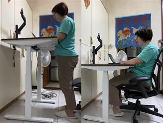 在家工作靠Herman Miller人體工學椅與升降桌 久坐不累事半功倍