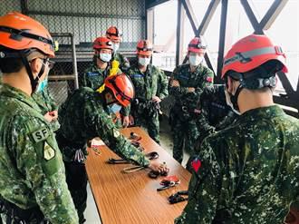 嚴防梅雨勢釀災 125名特戰勇士前進偏遠土石流潛在山區待命
