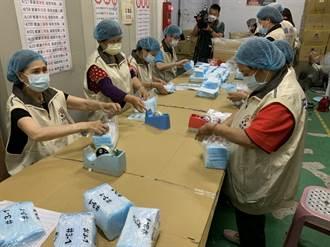 鶯歌康匠工廠日產百萬片口罩 區長代新北市感謝第一線人員