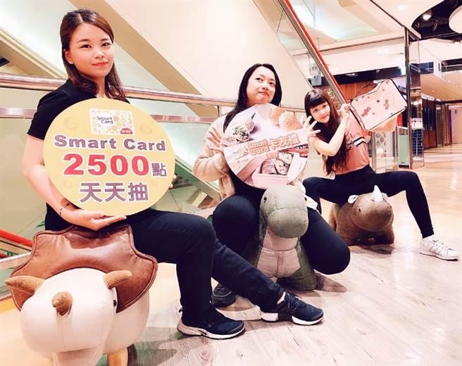 廣三SOGO21日起展開年中慶促銷,至6月10日全館滿3000送300廣三SOGO商品禮券,還有卡友獨家回饋禮。(廣三SOGO提供/馮惠宜台中傳真)