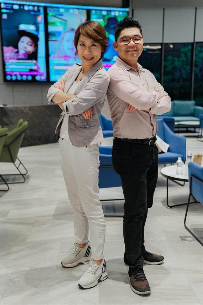 郎祖筠(左)開心許毓仁每次找她總有好事。(17 Media提供)