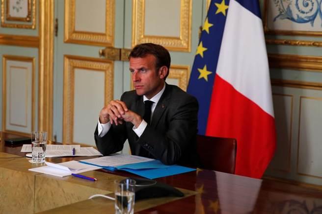 法國總統馬克洪。(路透)