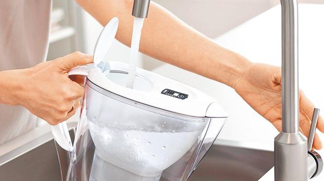 樂天市場的BRITA Marella XL濾水壺3.5L、濾心1入,特價650元。(樂天市場提供)