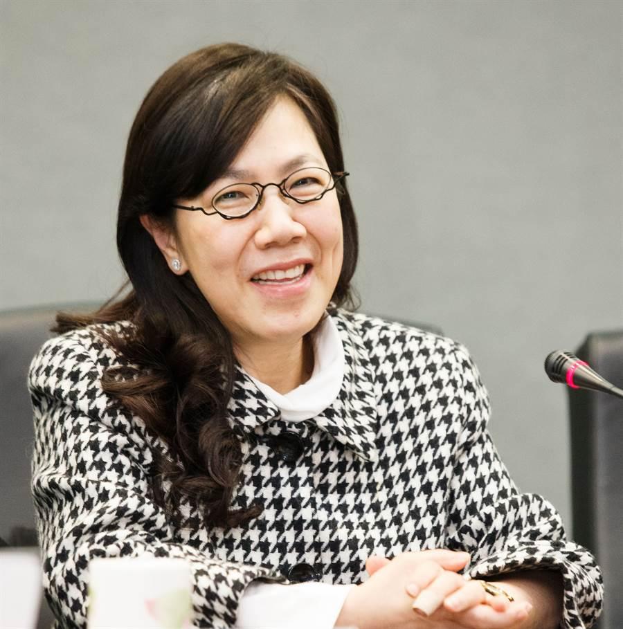 前總統李登輝女兒李安妮。(資料照片,杜宜諳攝)