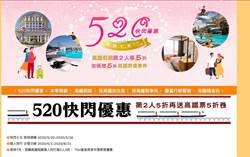 高鐵假期1周快閃 車票+住宿比來回票便宜