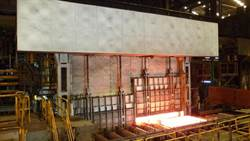 中鋼改造鋼板工場加熱爐 朝更節能減污的精緻鋼廠目標邁進