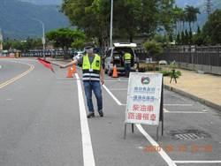柴油車排放黑煙 南投縣環保局行動檢測、定點服務