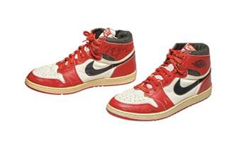 56萬美元 喬登戰靴拍出新天價