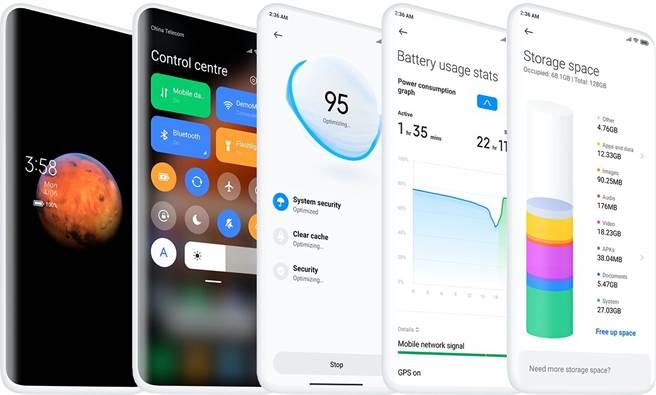 小米發表最新基於Android作業系統 – MIUI 12。(小米提供/黃慧雯台北傳真)