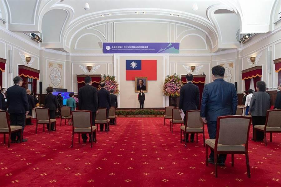 總統蔡英文今天就職展開第二任期。(取自蔡英文臉書)