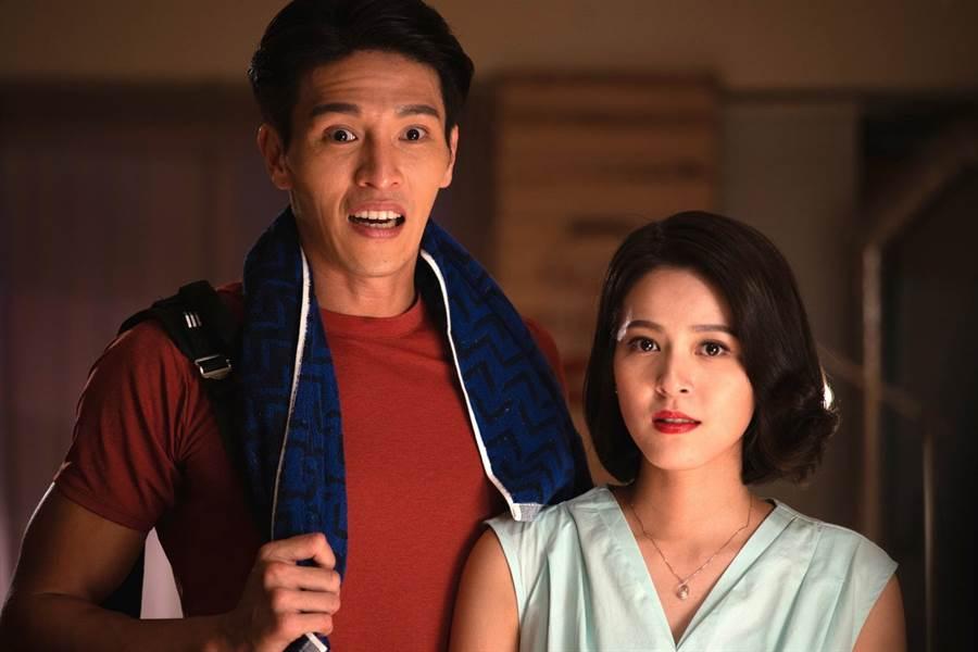 蘇晏霈表示,和陳禕倫對戲感受很舒服,就像一對真的男女朋友,直呼「很好的福利,製作公司對我真好。」(公視提供)