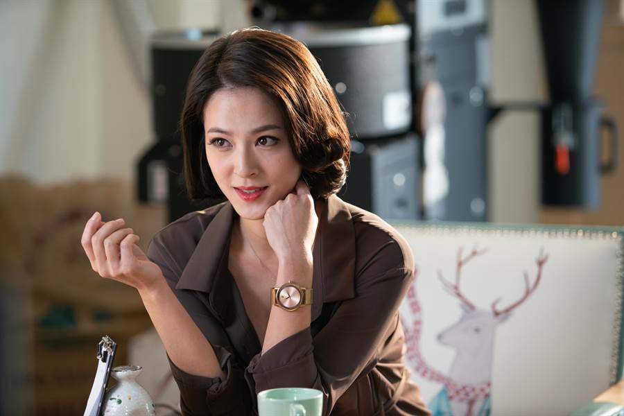 蘇晏霈在《我的婆婆》中飾演鍾欣凌小女兒蘇秉愛,她認為這個角色只要你愛我、可以滿足我的需求,我就可以把一切都給你。(公視提供)