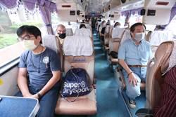 防疫旅遊示範教學 學員全程戴口罩出遊