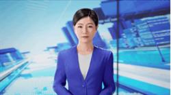 大陸首個人工智能3D主播亮相 可望在兩會期間播報新聞