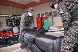 滯留鋒面南移 國軍第四作戰區官兵進駐屏東災防整備