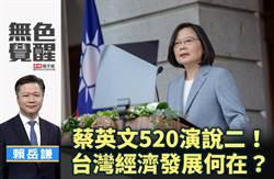無色覺醒》 賴岳謙:蔡英文520演說二!台灣經濟發展何在?