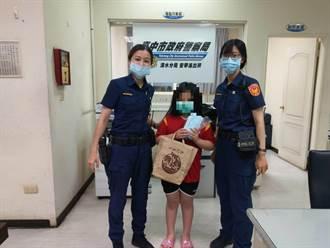 暖心小二女童 收集口罩親送波麗士