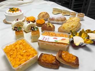 「芒果控」照過來!弘光烘焙實習工廠推11款芒果西點