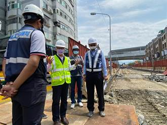 中市5處地下道填平工程 第二標擴大交維計畫
