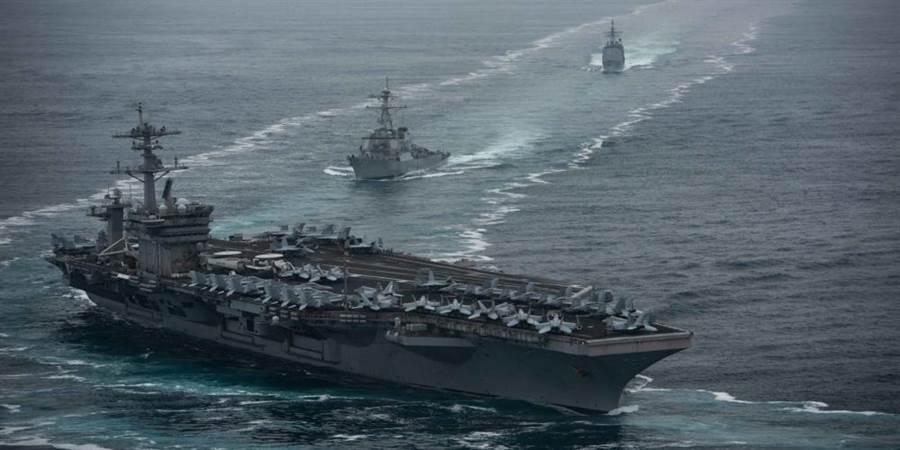 羅斯福號重返大海,但還不算恢復戰力。(圖/美國海軍)