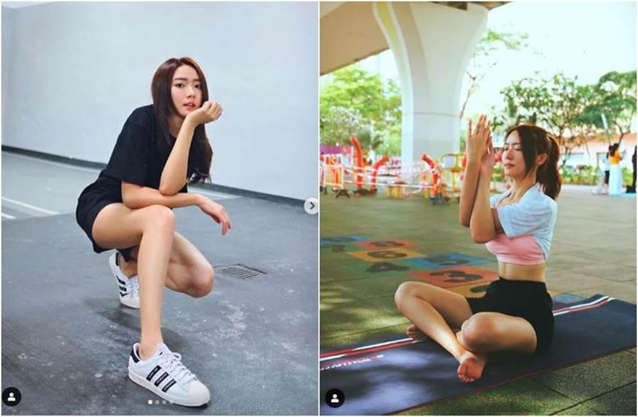 戴祖儀是香港新一代宅男女神。(圖/翻攝自IG)