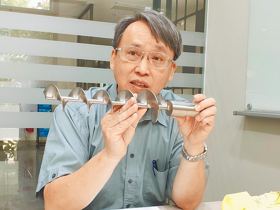 在智研科技董事長暨創辦人楊各華眼裡,工具機是黑手藝術。圖/陳逸格