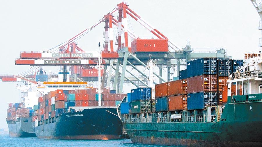 台灣面臨區域經濟整合的壓力,是總統蔡英文新任期須面對的課題。圖為台中港。(本報系資料照片)