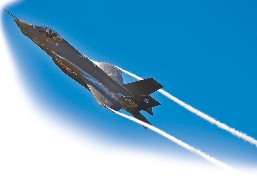 美軍的F-35。(取自美國空軍官網)