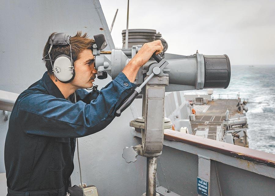 3月、5月,美國的伯克級驅逐艦「麥克坎貝爾」號曾現身台海。(取自美國海軍官網)