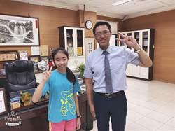 億載國小連續7年有學生當選台南市十大傑出兒童