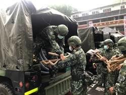 豪雨成災 陸軍增派兵力急增援高屏偏鄉