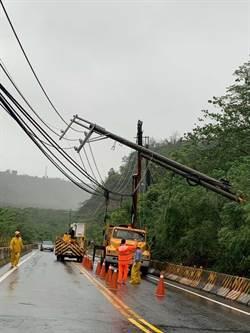 大雨炸南台灣 山區傳災情 市區道路多處淹水