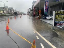 高雄鹽埕區淹水 網友狂報「災情」